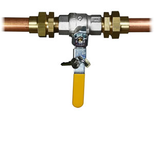 Lockable line valves